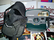 Película Polaroid One Step Express Incluido ** más raro verde versión de 600 + Bolsa