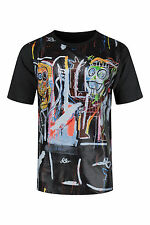 NEW Men Coke Boys Shirt Comics Art Abstract CB Black Short Sleeve Sizes M-2XL