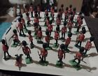 Mostly Britains Scots guards x 42 1/32 scale