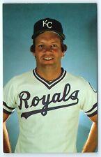 Vintage Postcard George Brett Kansas City Royals Baseball