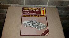 1983-1987 Amc Renault Alliance & Encore Haynes Automotive Repair Manual Book