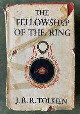 The Fellowship of the Ring J. R. R. Tolkien HC 1st UK Ed 2nd Impression Dec 1954