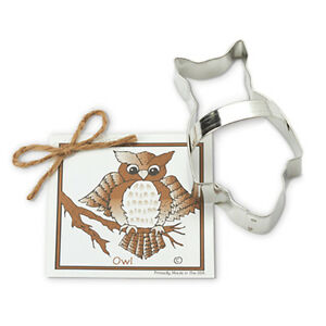 OWL COOKIE CUTTER~~ BY ANN CLARK