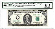 1963 A $100  Fr 2163-G PMG 66 EPQ Only 5 Graded Higher in PMG Registry