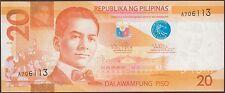 TWN - PHILIPPINES 206a - 20 Piso 2010 UNC - Prefix A