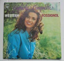 Gigliola Cinquetti, western / rossignol,  SP - 45 Tours
