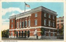 Georgia, GA, Athens, Post Office 1920 Postcard