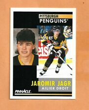 JAROMIR JAGR  PINNACLE FRENCH 1991-1992  CARD # 53