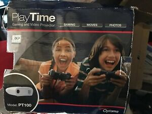 Playtime Optoma PT100 DLP Gaming and Video Projector