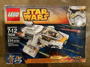 Open Box Sealed Bags No Manual LEGO STAR WARS VEHICLE 75048 THE PHANTOM 2014