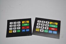 Gilbarco T50064-32  Advantage ADA Keypad Overlay NEW// TEXACO
