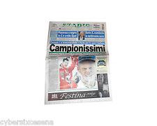 SCHUMACHER ferrari Valentino ROSSI campionissimi Corriere Sport Stadio 2003