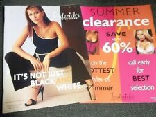 Fredericks of Hollywood sexy lot 2 2001 issues Summer & Clearance Morena Corwin