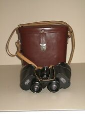 Carl Zeiss Jena Jenoptem 10 x 50W binoculars with leather case