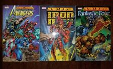 Heroes Reborn Marvel comics 3 TPB IRON MAN, AVENGERS, FANTASTIC FOUR
