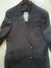 Mens D'Avenza Dark Brown Silk Suit New With Tags 40R