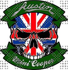 Austin Rover Badge Sticker Autocollant Classique Voiture Vinyle 50 mm x2 Maestro Montego Metro