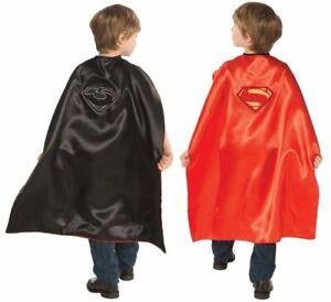 Child DC Comics Superman & General Zod Reversible Superhero Hero Costume Cape