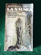 LA NAUSEA - Jean-Paul Sartre - Mondadori - 1972