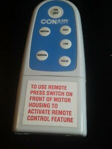 CONAIR SPA Bath Remote Control - Original 1000KE OEM