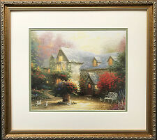 "Thomas Kinkade ""Blessings of Spring"" New CUSTOM FRAMED Art Print MASTER OF LIGHT"