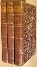 BALLEYDIER Alphonse - HISTOIRE DU PEUPLE DE LYON - DEDICACE - COMPLET 3/3 - 1845