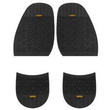 Footful Glue on Half Soles M 2.5mm + Heels 8.0mm Anti Slip Shoes Repair ,L