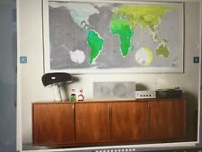 Huge  WORLD WALL MAP The  Future Mapping  Company Decor Poster