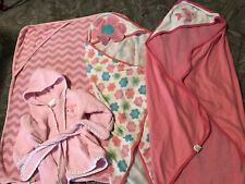 Baby girl bath towels And Bath Robe