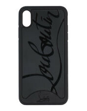 Christian Louboutin Iphone XS Max Black Case Cover Loubiphone Sneakers New $399