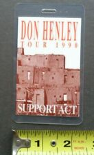 Don Henley,of the Eagles,Original backstage pass,1990 tour,Support