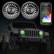 XKchrome App Control LED Headlights RGB for Jeep Wrangler JL Gladiator JT
