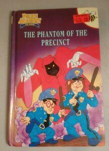 police academy animated series book the phantom of the precinct buzz books
