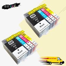 8PK 920 XL Ink Cartridge For HP 920XL Officejet 6000 6500 6500a 7000 7500a chips