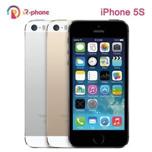 Unlocked Original  Apple iphone 5S 64GB Gray IOS WIFI  GPS 3G iPhone5s Cellphone