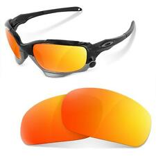 Lentes SURE de Recambio Polarizada para Oakley Racing Jacket (Fire Iridium)