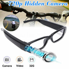 Mini HD 720P Gafas con Cámara Oculta DV DVR Grabador Video Camcord Lentes Espía