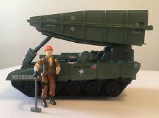 1985 G.I. Joe ARAH BRIDGE LAYER (TOSS 'N CROSS) Vehicle w/ TOLLBOOTH