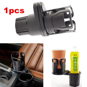 1pcs Black Cup Can Holder For Auto Car Truck Interior Center Console Mount