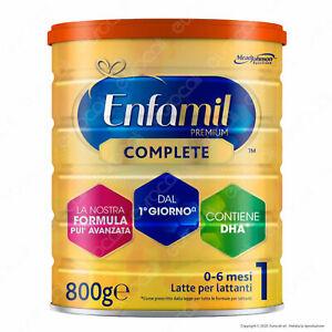 Enfamil Latte in Polvere Premium Complete Bambini 0-6 mesi Mead Johnson DHA 800g