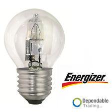 ENERGIZER 42W = 60w ES E27 Transparent HALOGÈNE Économie d'Énergie Balle De Golf