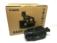 Canon XA50 Professional UHD 4K Camcorder -2 Year Warranty - UK NEXT DAY DELIVERY