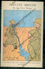 Private Breger, Rain Trick Helmet (WWII vintage(militarycomics#113*2