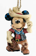 A25905 Roundup Cowboy Mickey Mouse -  Hanging Ornament 19882