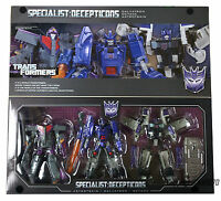 Transformers Henkei Generations G1 Specialists Galvatron Octane Astrotrain MISB