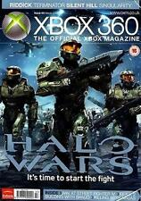 XBox 360 Gaming Magazine Mar2009 HALO WARS TERMINATOR STREET FIGHTER IV FEAR 2