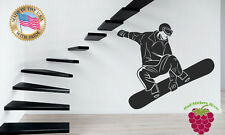 Wall Stickers Vinyl Decal  Snowboard Winter Sport Extreme z641