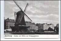 HAMBURG Reprint-AK Mühle a.d. Heiligengeistfeld anno 1906 Partie Feldstrasse