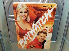 Baywatch Season 3 Three 5 DVD BOX SET BRAND NEW FACTORY Sealed David Hasselhoff