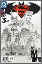 SUPERMAN BATMAN #8 Second (2ND) Print MICHAEL TURNER Sketch Cover Variant